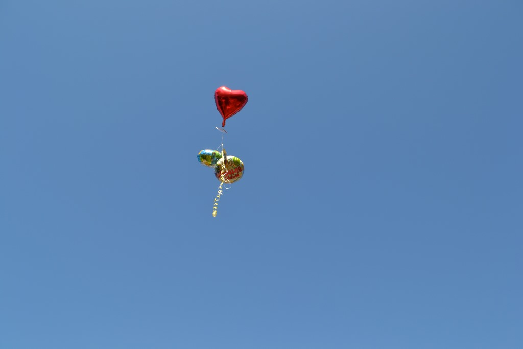 Aunt Mimi And Kims Balloon Release For Nathan Kaleb